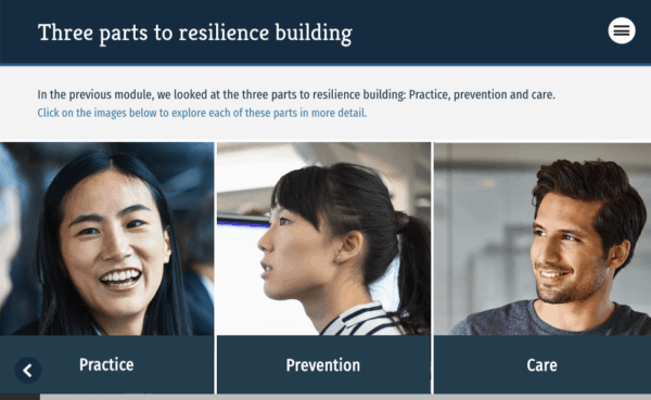 building blocks of resilience