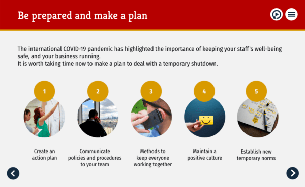 COVID-19 Action plan: For managers/HR/business owners