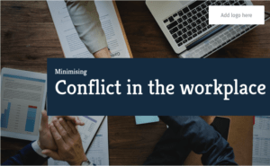 minimising conflict in the workplace