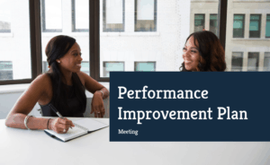 performance improvement plan meeting