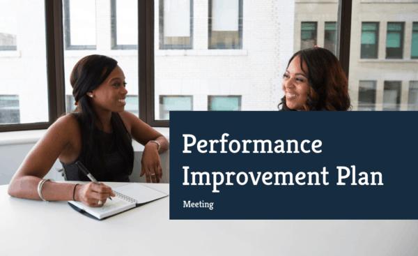 performance improvement plan meeting