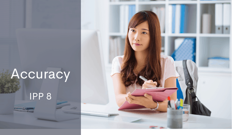 NZ Privacy Act IPP 8 Accuracy